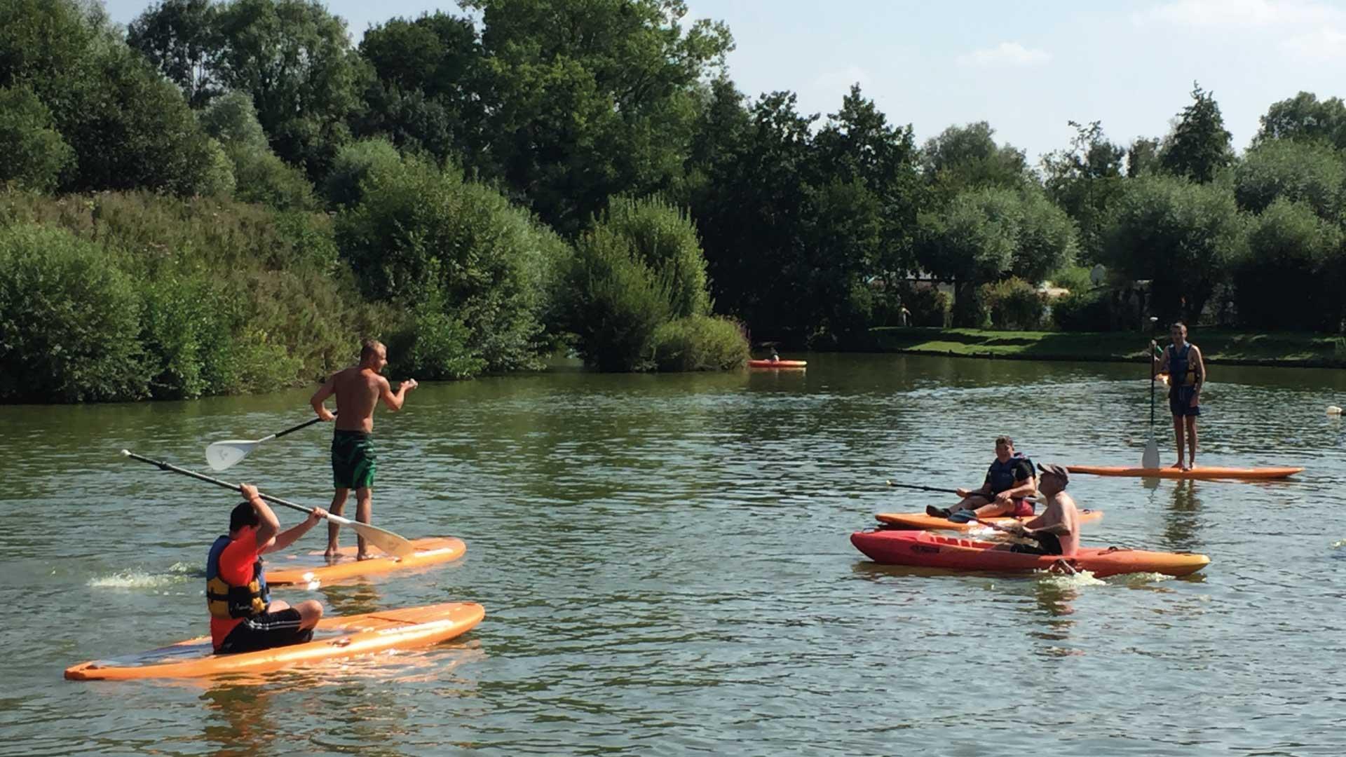 Canoë/Kayak - Camping du Molinel - Tortefontaine