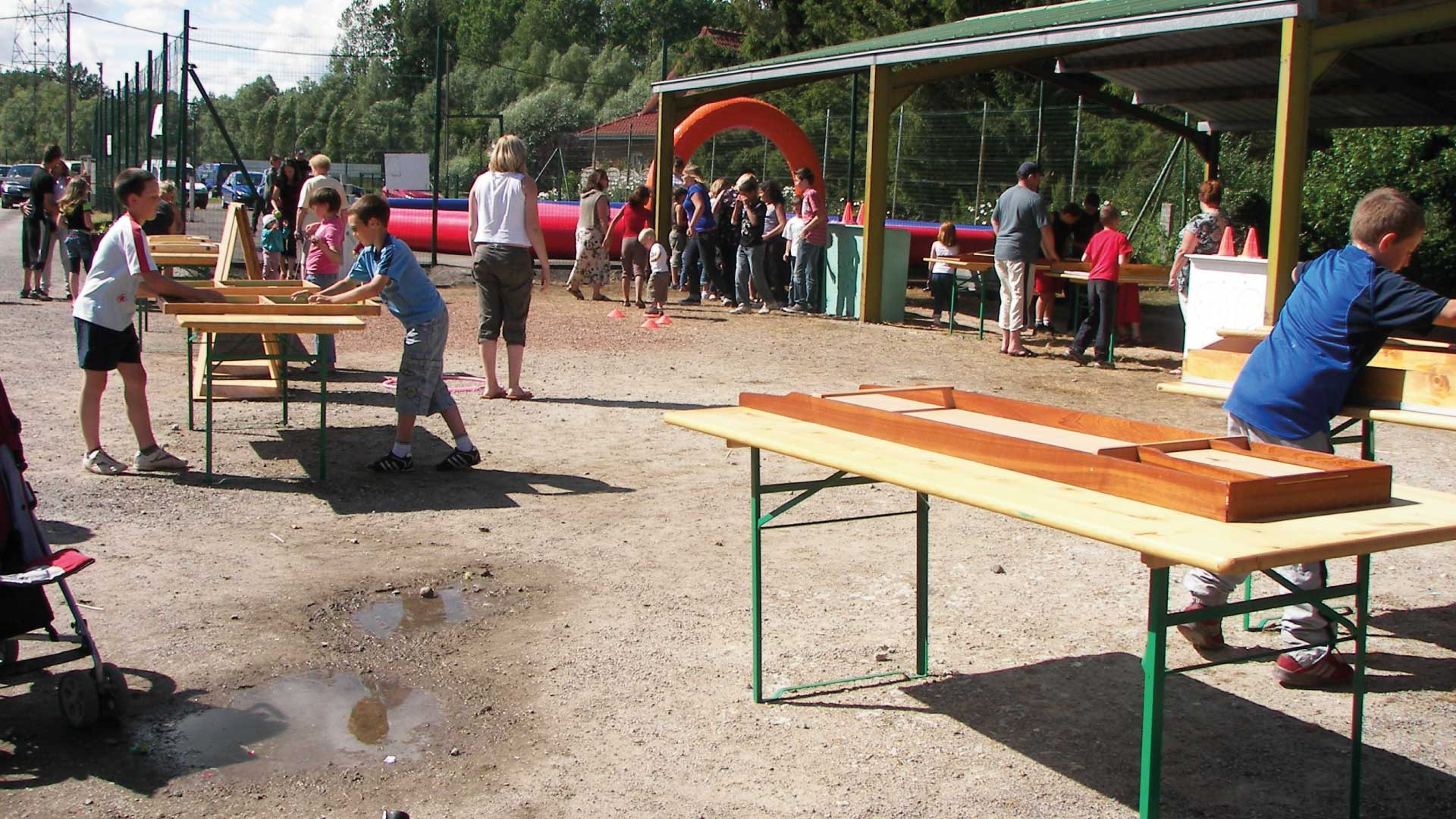 Jeux en plein air pour enfants - Camping du Molinel - Tortefontaine