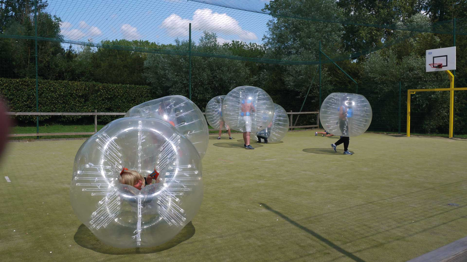 Bubble Foot - Camping du Molinel - Tortefontaine