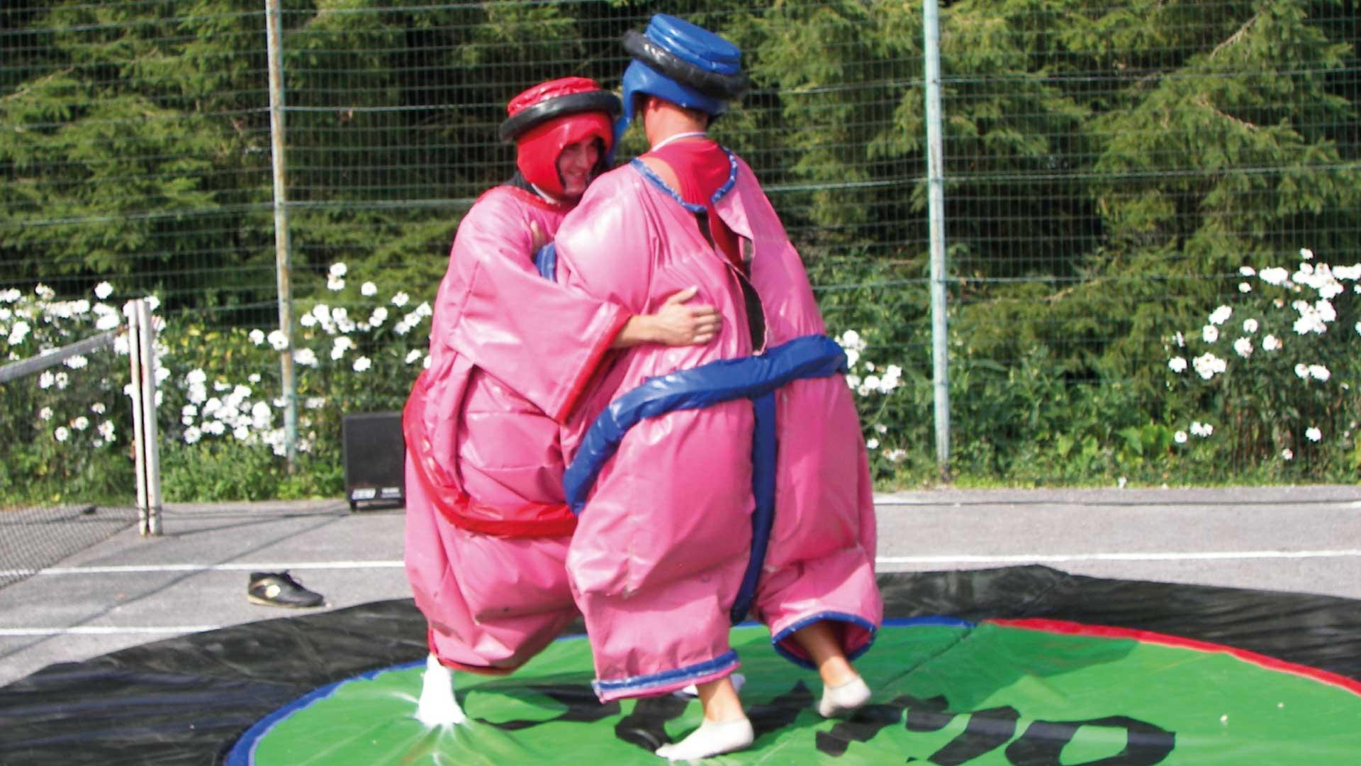 Combat de Sumo - Camping du Molinel - Tortefontaine