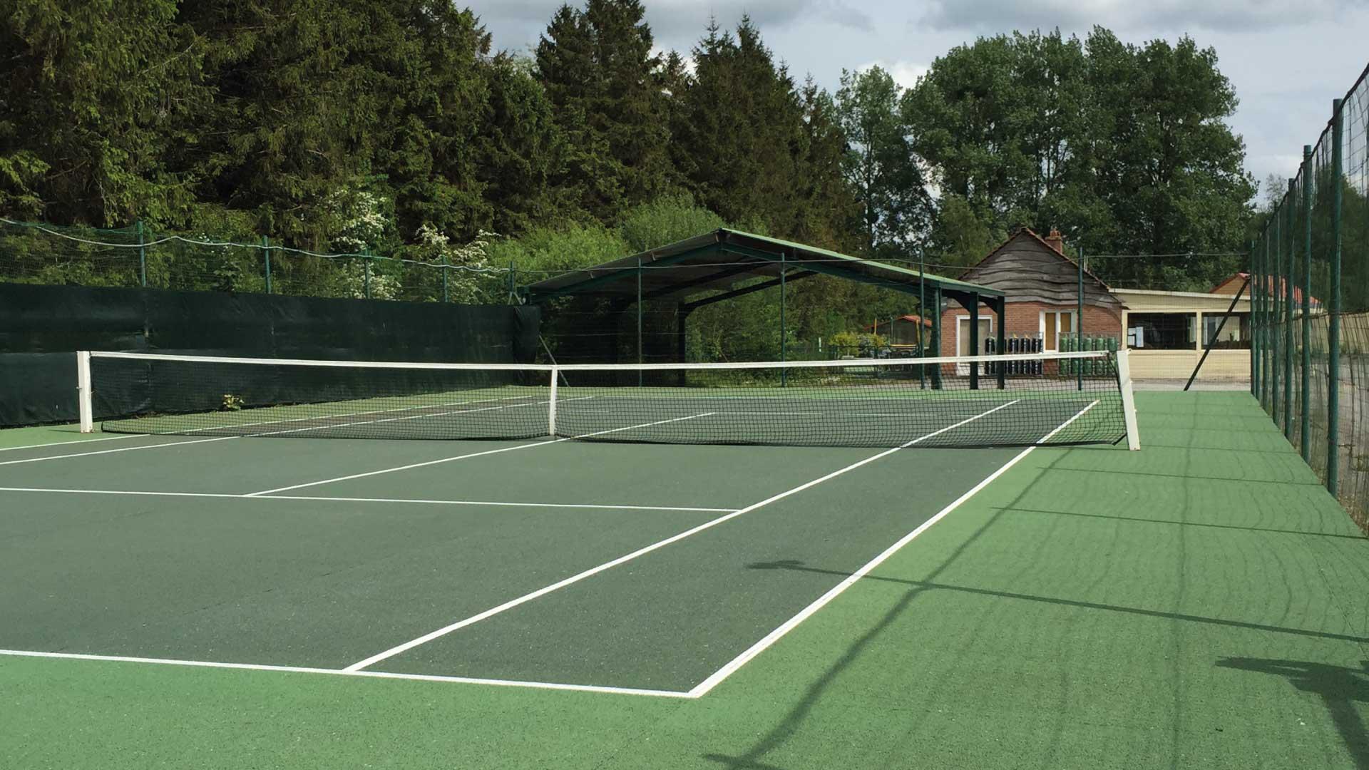 Terrain de tennis - Camping du Molinel - Tortefontaine