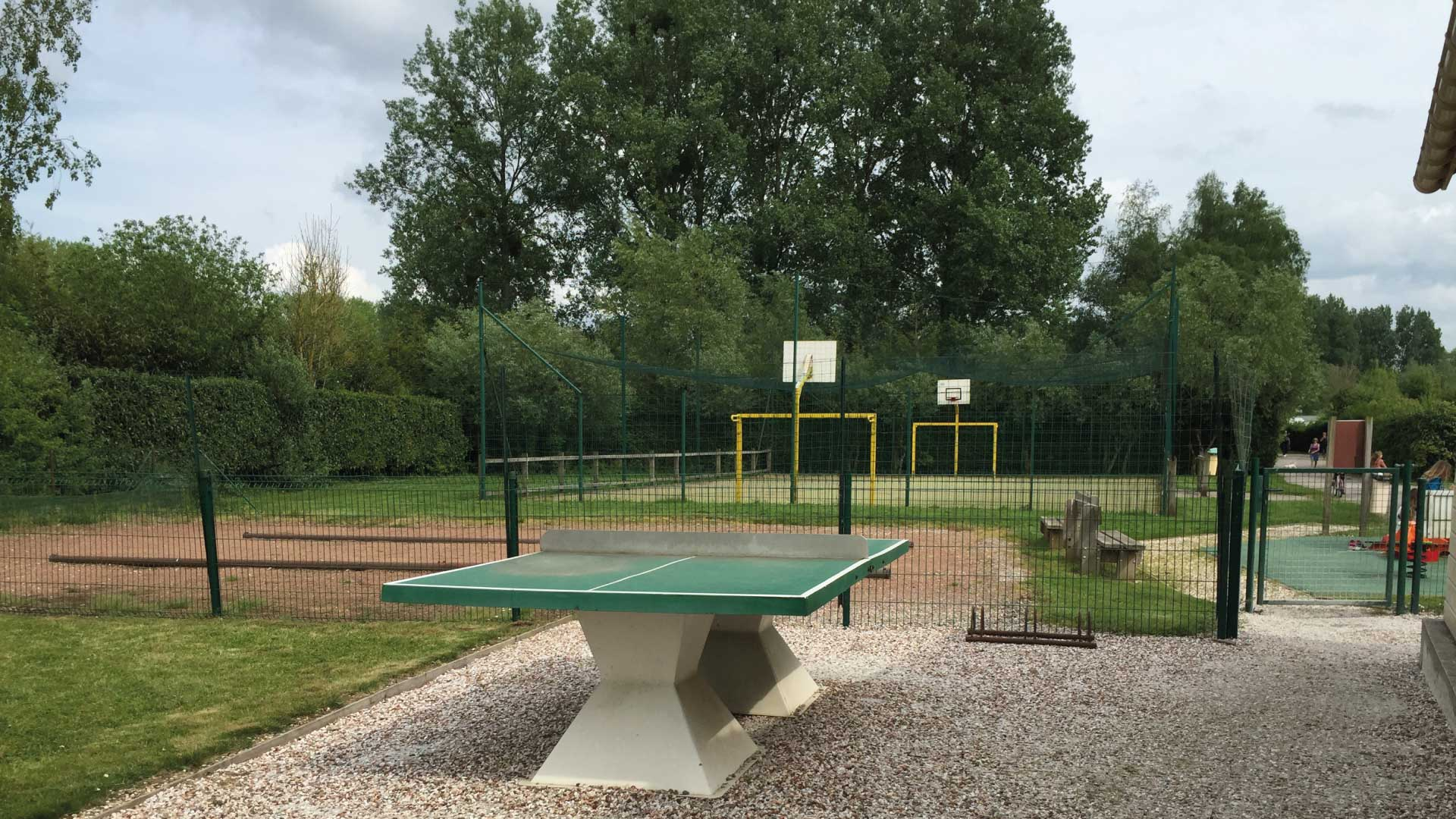 Terrain multisports - Camping du Molinel - Tortefontaine